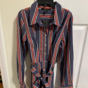 Brand New Forever 21 Striped Woven Dress